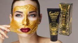 Маска-плёнка Elizavecca Hell-Pore Longolongo Gronique Gold Mask Pack (Золотая)