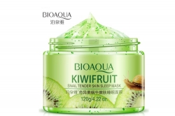 Ночная гелевая маска для лица BioAqua Kiwifruit Snail Sleeping Mask 120g