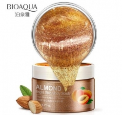 Скраб для тела Bioaqua Almond Bright Skin Body Scrub c маслом миндаля 120g