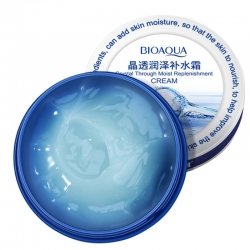 Крем для лица с гиалуроновой кислотой Bioaqua Crystal Through Moist Replenishment Cream, 38 g