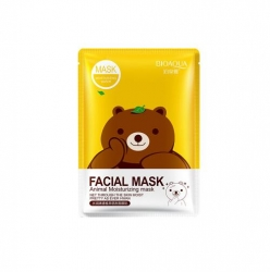 Тканевая маска Bioaqua Facial Mask Animal мишка 30g