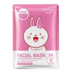 Тканевая маска Bioaqua Facial Mask Animal заяц 30g