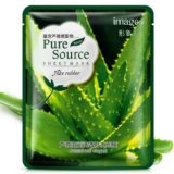 Тканевая маска для лица  с алоэ Images Pure Source 30g