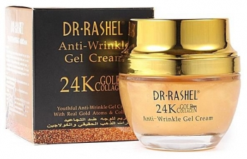 Крем гель от морщин Anti-Wrinkle Dr. Rashel 24K Gold and Collagen