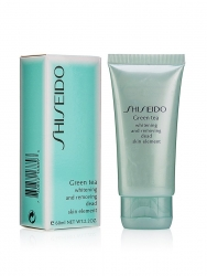 Гель-пилинг для лица SHISEIDO Green tea 60ml