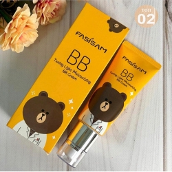 Fasisam BB cream медведь  тон 02