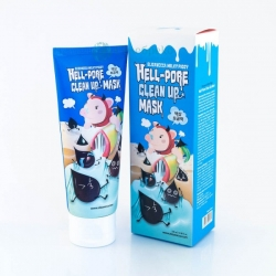 Угольная маска-пленка Elizavecca Milky Piggy Hell-Pore Clean Up Mask 100ml