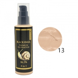 Тональный крем Privia U Black Snail Premium Foundation 86.5% SPF 30 PA++ 4 in 1 № 13, 100 мл