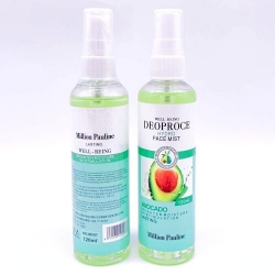 Мист для лица Авокадо Million Pauline Deoproce Hydro Face Mist Avocado, 120 ml