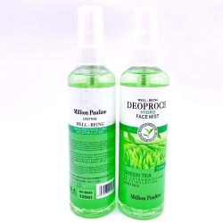 Мист для лица Зеленый чай Million Pauline Deoproce Hydro Face Mist Green Tea, 120 ml