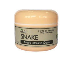 Крем для лица со змеиным ядом Ekel Ample Intensive Cream Snake