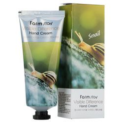 Farmstay Visible Difference Snail Hand Cream Крем для рук с экстрактом улитки 100 мл
