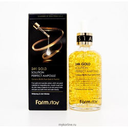 Farm Stay 24K Gold and Peptide ampoule