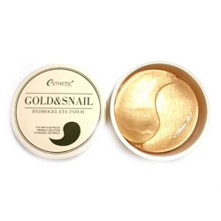 ESTHETIC HOUSE Гидрогел. патчи д/ глаз ЗОЛОТО/УЛИТКА  GOLD&SNAIL HYDROGEL EYEPATCH